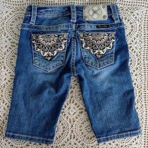 Miss Me Jeans Bermuda Shorts Size 8